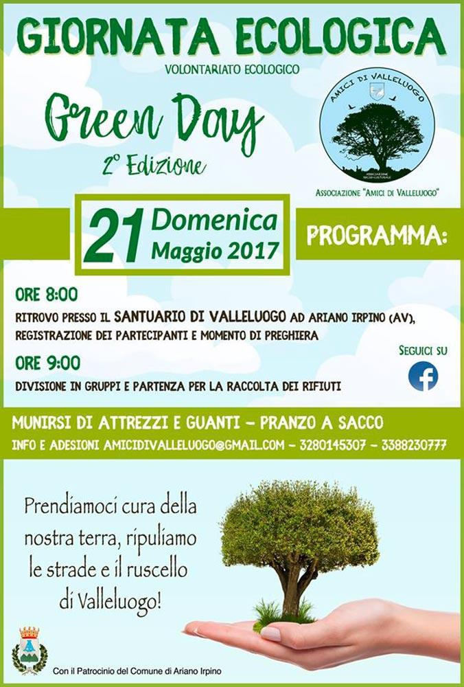green day giornata ecologica irpinia