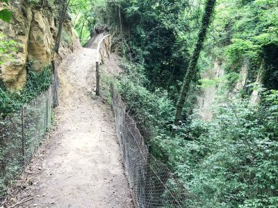 sentiero trekking irpinia