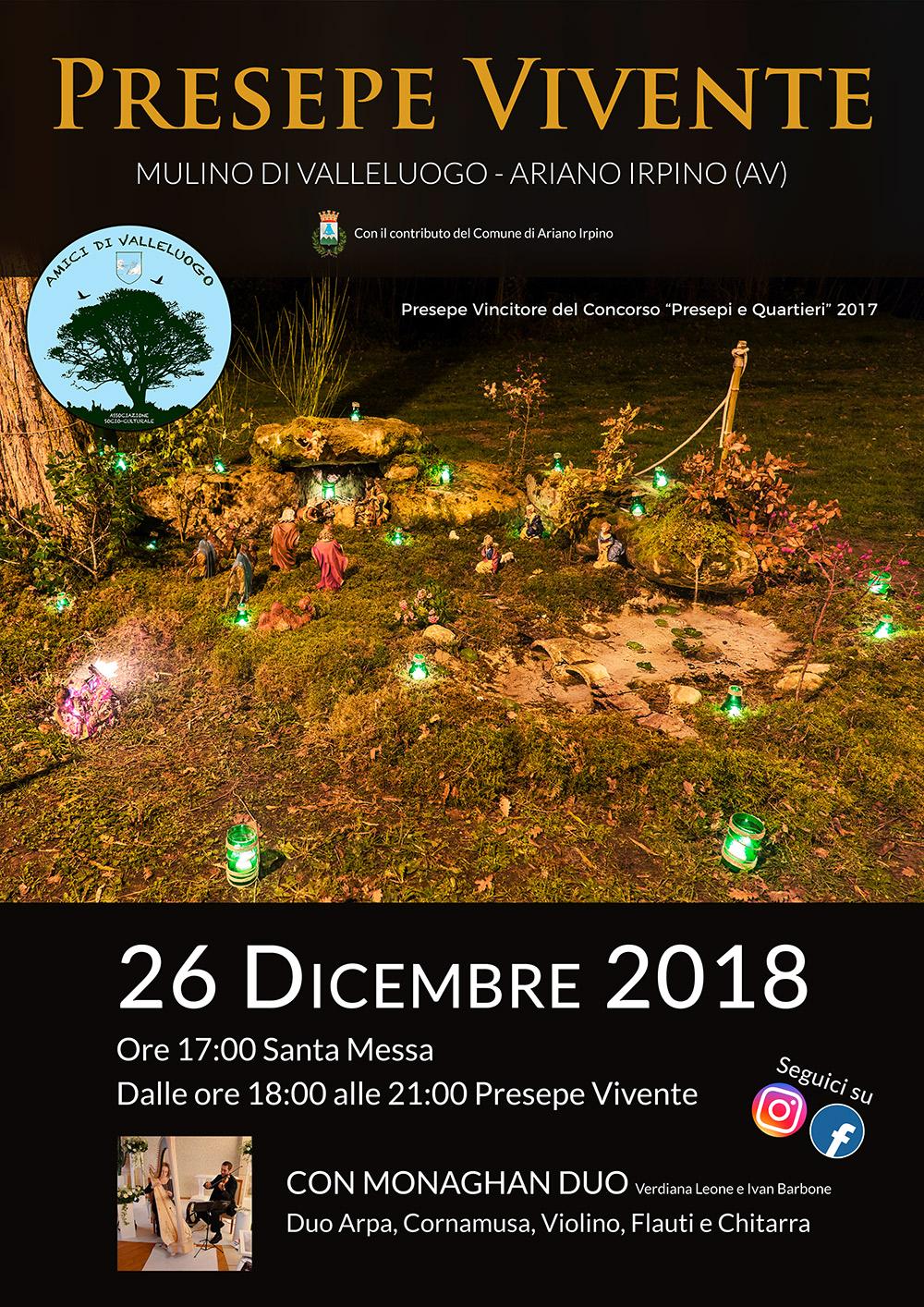 presepe vivente 2018 in Campania